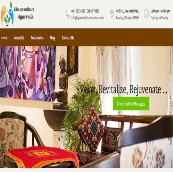 Dhanwanthara Ayurveda Therapy Centre